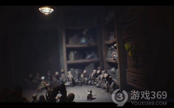 小小梦魇第六关攻略