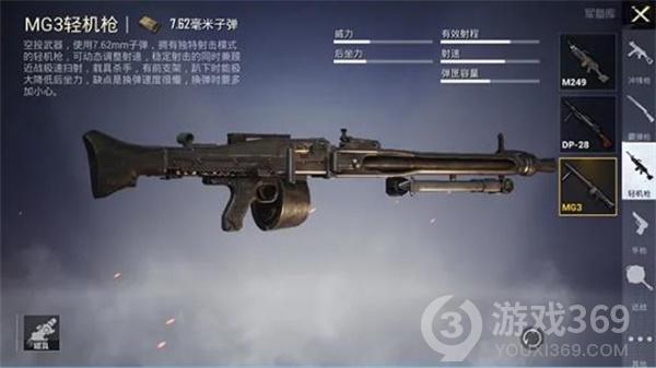和平精英MG3轻机枪获得方法/刷新点介绍
