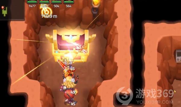 坎公骑冠剑4-3山洞地窖进入方法