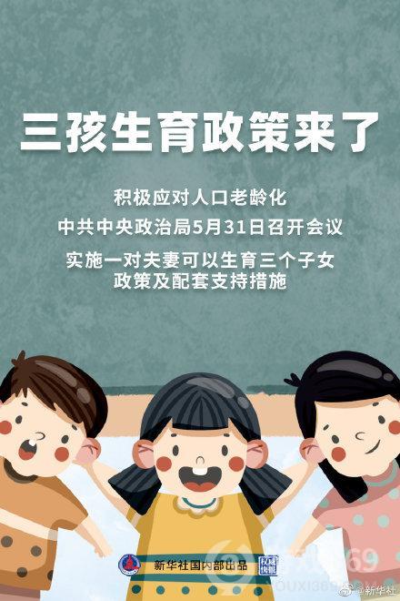三孩政策引热议
