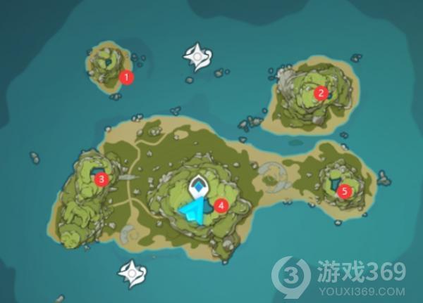 原神破破岛五个柱子解谜攻略