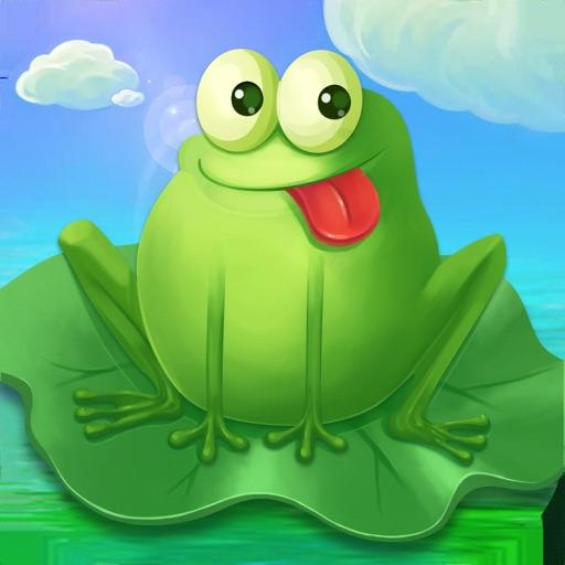 小青蛙:跳一跳越过小河