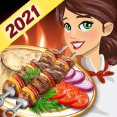 烹饪烤肉厨师
