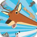 一只非常普通的鹿