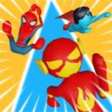 超级英雄跑酷比赛