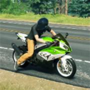 摩托骑手交通比赛3d