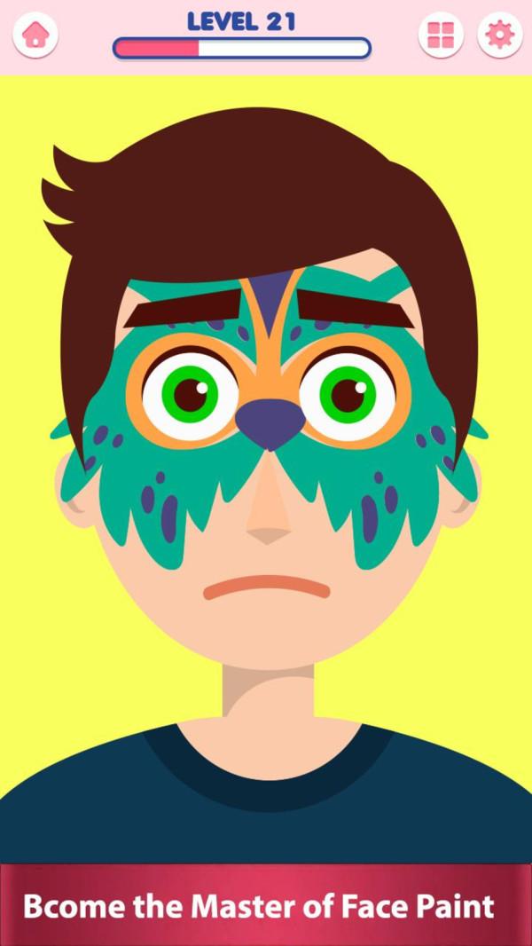 脸部纹身模拟器