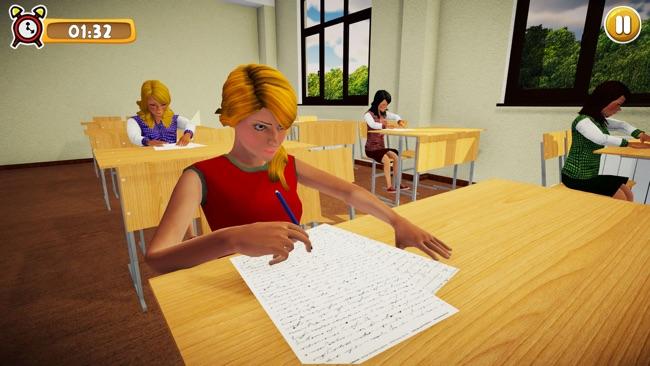 虚拟高中女生生活模拟器