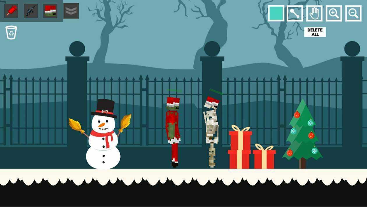 圣诞人偶游乐场