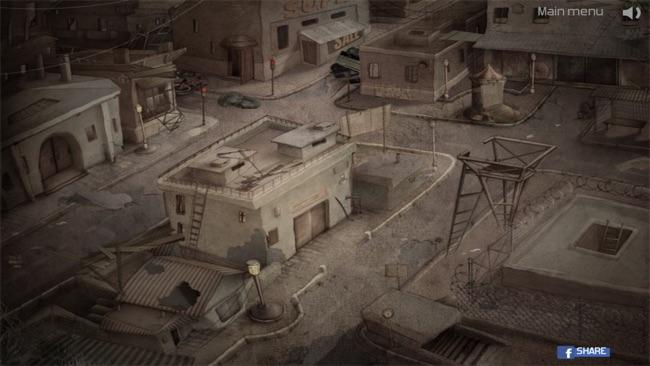 逃出废弃的机器人古堡