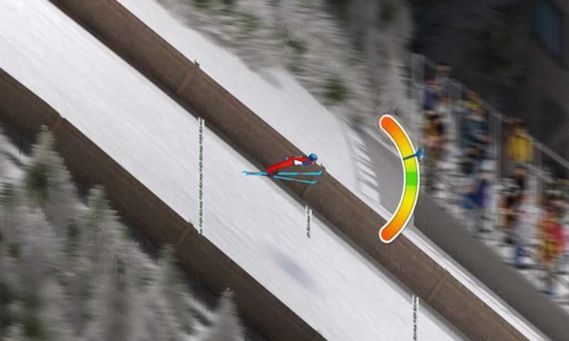 跳台滑雪狂热3中文版