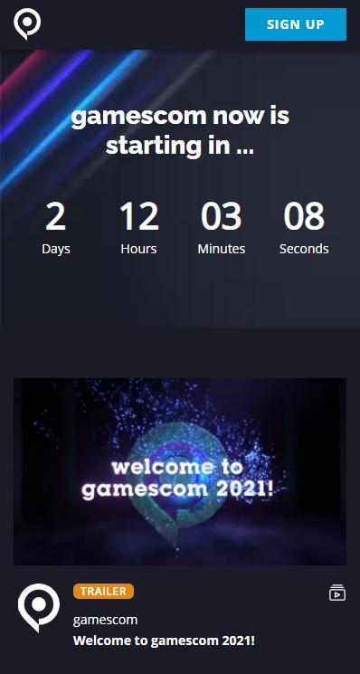 科隆游戏展2021