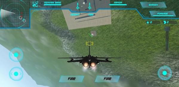 飞机战斗飞碟