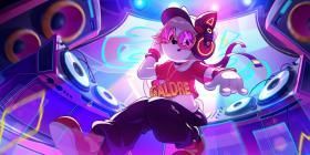 《猫和老鼠》手游图多盖洛全新S级皮肤电音女神爆料