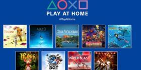 索尼Play at Home更新追加10款免费游戏
