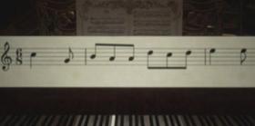 生化危机8钢琴五线谱怎么解