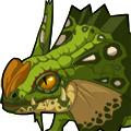 变异的伞蜥龙